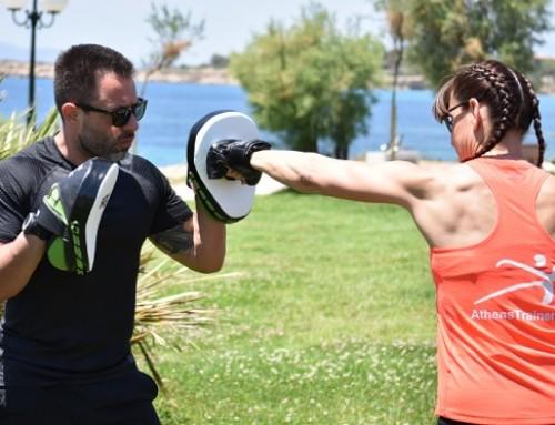 Γίνε το άλλο του μισό και στην προπόνηση: άσκηση 4