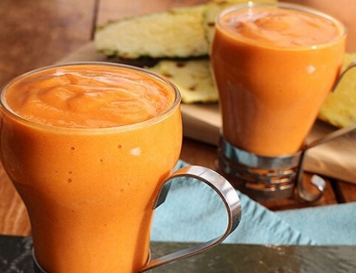Sweet potato smoothie