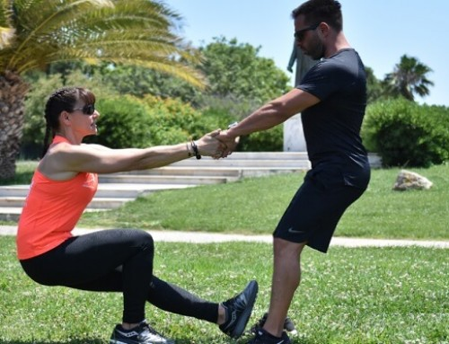 Γίνε το άλλο του μισό και στην προπόνηση: άσκηση 6