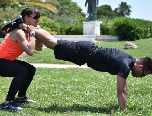 Γίνε το άλλο του μισό και στην προπόνηση: άσκηση 7
