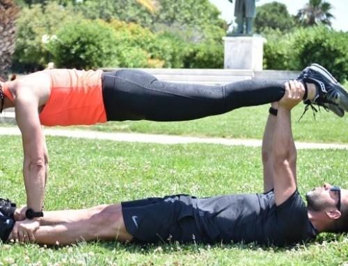 Γίνε το άλλο του μισό και στην προπόνηση: άσκηση 10