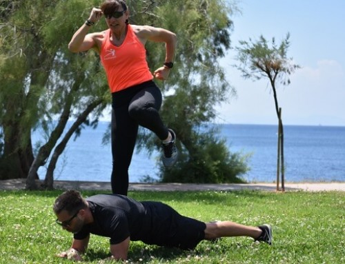 Couple workout: exercise 11