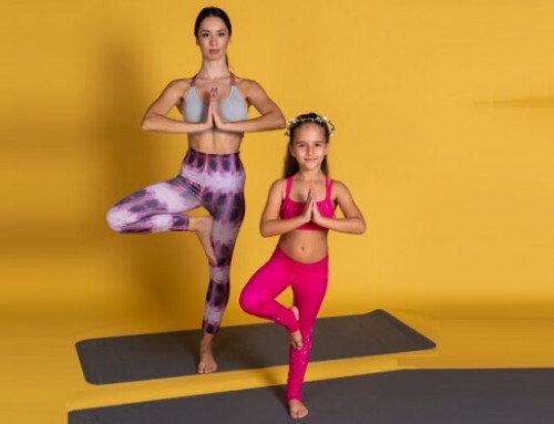 Express yourself with an asana: Tree pose