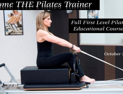 Become THE Pilates Trainer: October Educational Courses