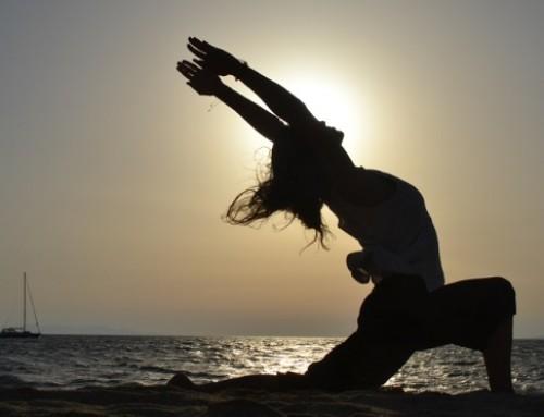 Sunset Yoga : η στάση της σελήνης