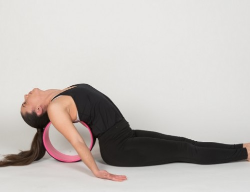 Yoga wheel παιχνίδια ισορροπίας: lift your heart