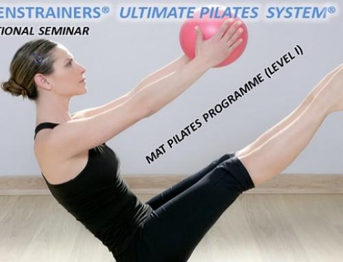 Εκπαιδευτικό σεμινάριο Mat Pilates Programme level I