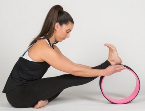 Yoga wheel παιχνίδια ισορροπίας: gratitude