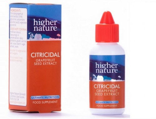 Citricidal: Grapefruit seed extract