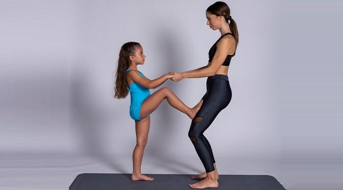 άσκηση με παιδί