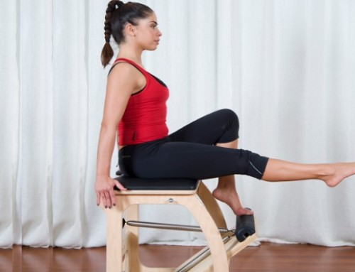 Wunda Chair: single leg pumps