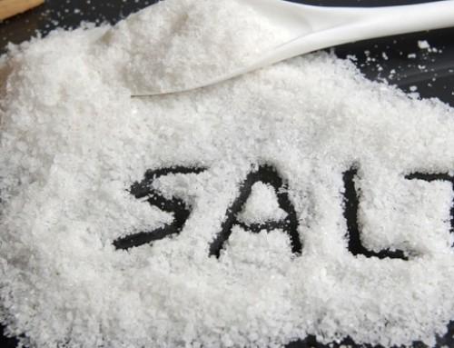 Table salt vs. sea salt