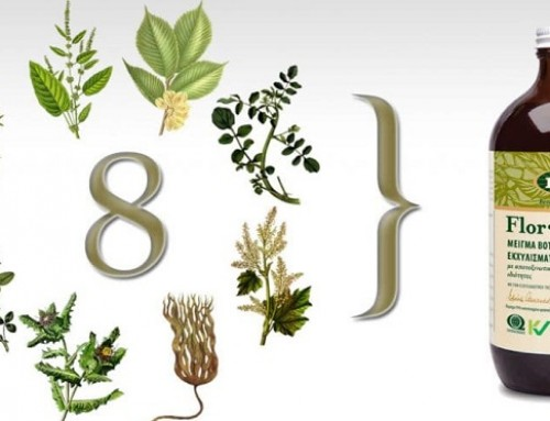 Flora – Flor Essence : αποτοξινωτικό εκχύλισμα 8 βοτάνων