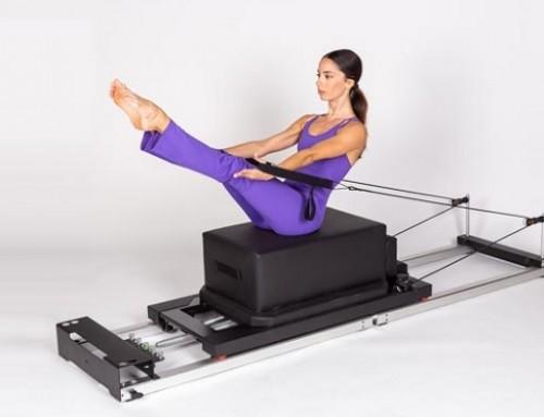Pilates@home using a home reformer: teaser