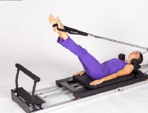 Pilates@home using a home reformer: circles