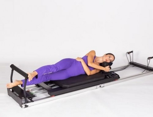 Pilates@home using a home reformer: sleeper