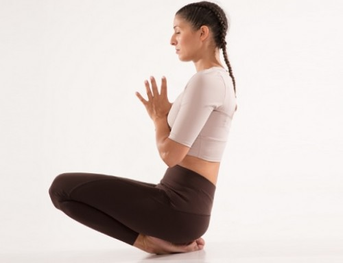 Yin Yoga: ankle pose