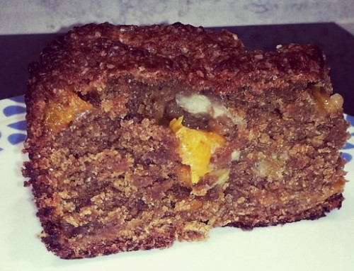 Apricot banana orange loaf