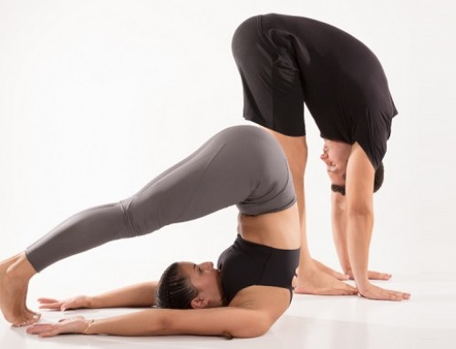 Upside down yoga: pose 4