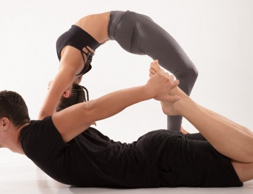 Upside down yoga: pose 5