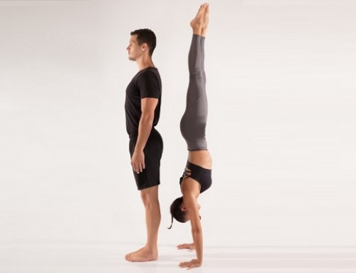Upside down yoga: pose 11