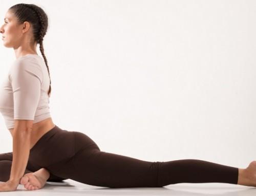 Yin Yoga: swan pose