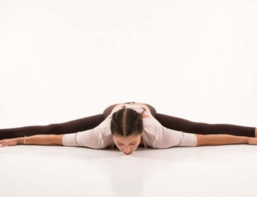 Yin Yoga: melting dragonfly pose