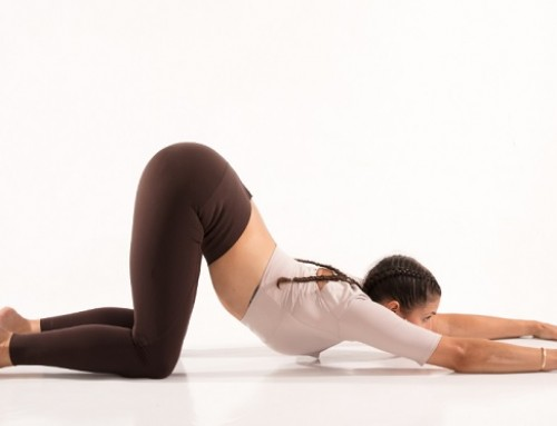 Yin Yoga: melting heart pose