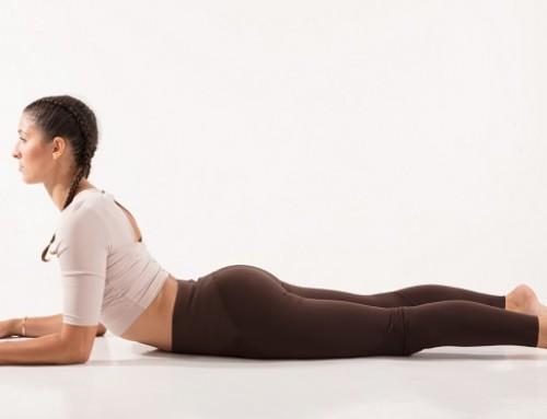 Yin Yoga: melting sphinx pose